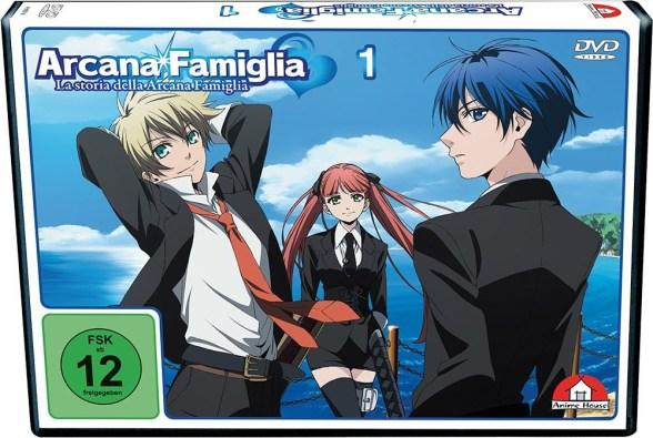 Arcana Famiglia – Vol 1 (DVD)