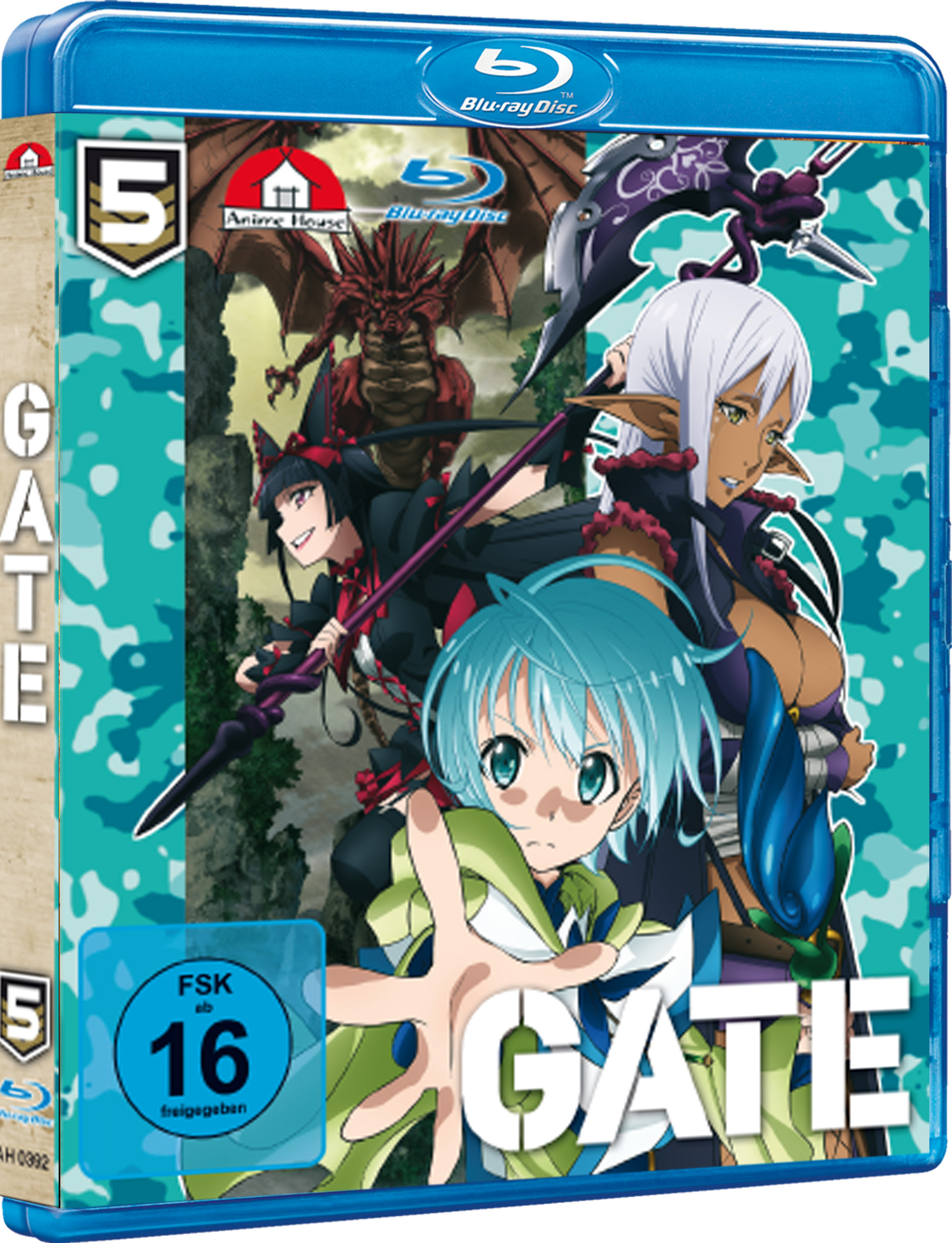 Anime im Test: GATE Vol. 5