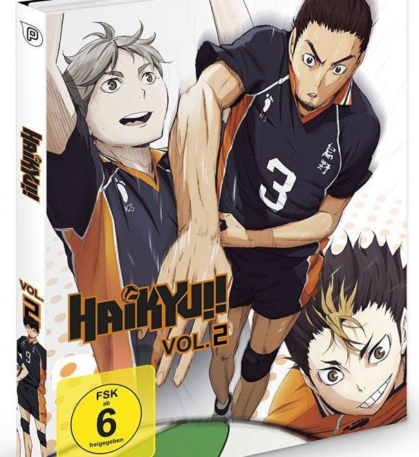 Haikyuu Manga Order: Anime Im Test: Haikyuu! Vol. 2
