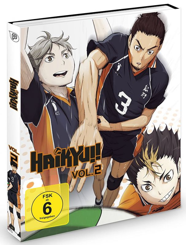 Anime im Test: Haikyuu! Vol. 2