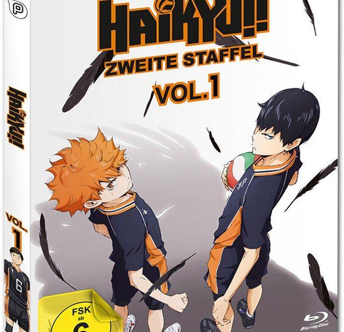 Haikyuu Manga Volumi: Anime Im Test: Haikyuu!! Staffel 2