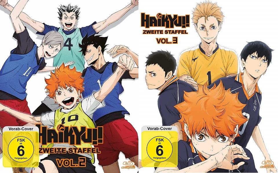 Anime im Test: Haikyuu – Zweite Staffel – Vol. 2 und 3