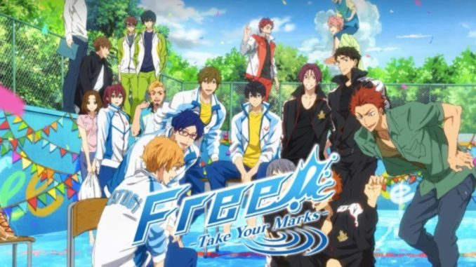 Anime im Test: Free! ~Take Your Marks~