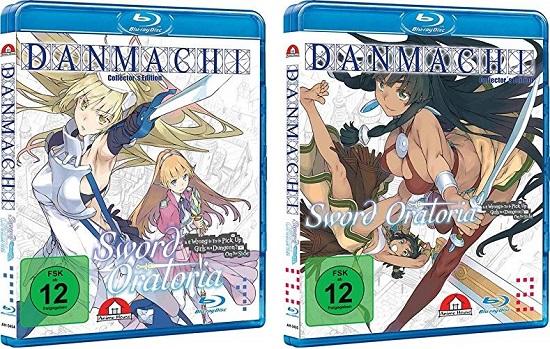Anime im Test: DanMachi: Sword Oratoria – Vol. 1+2