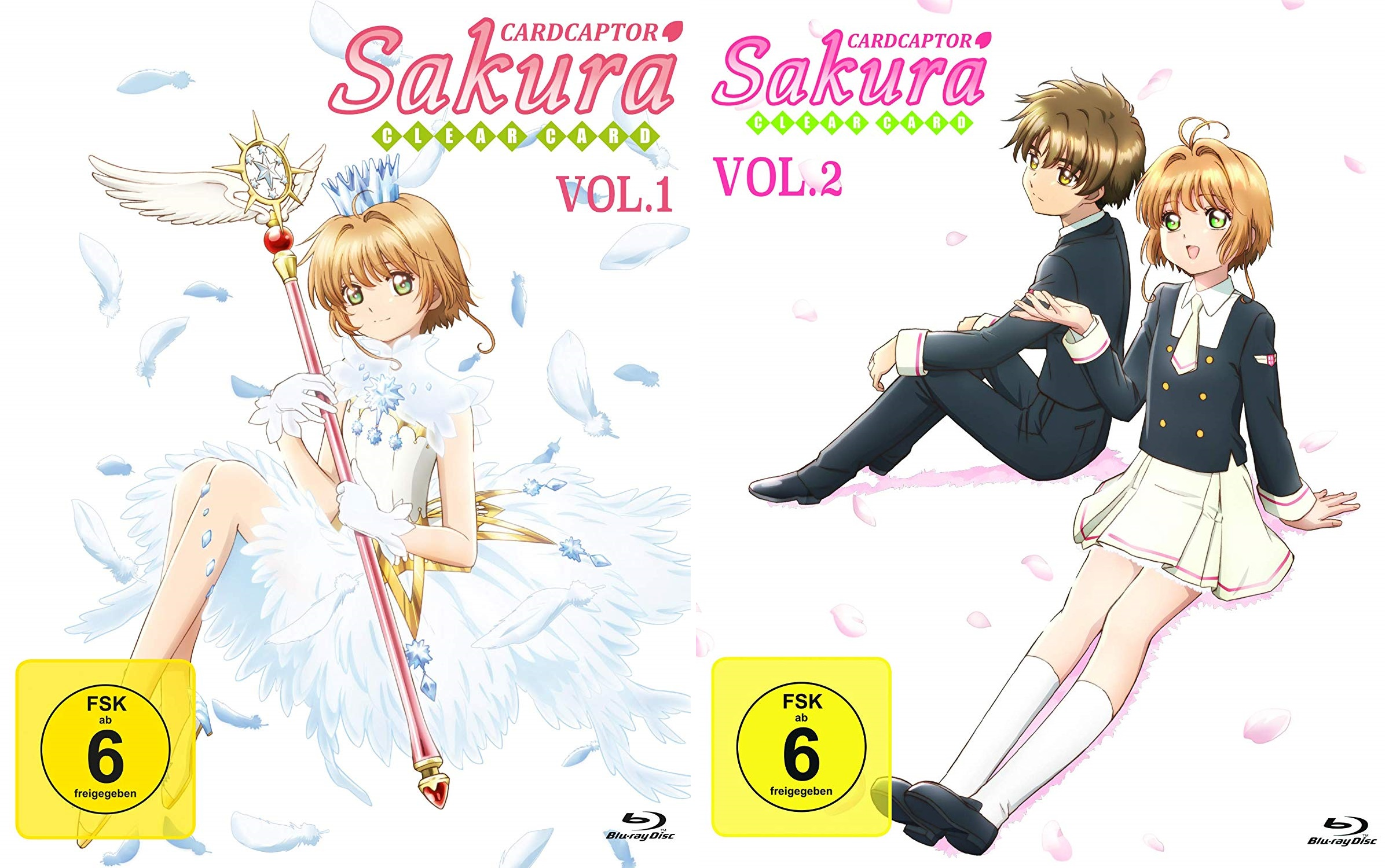 Review: Card Captor Sakura: Clear Card Arc Vol.1+2 (Bluray)