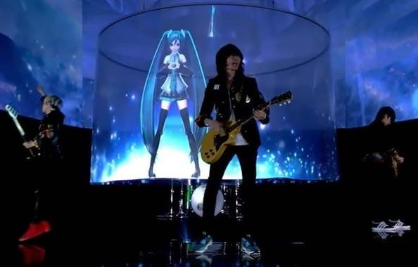 Hatsune Miku und BUMP OF CHICKEN drehen gemeinsam das Video zur Single 「ray」