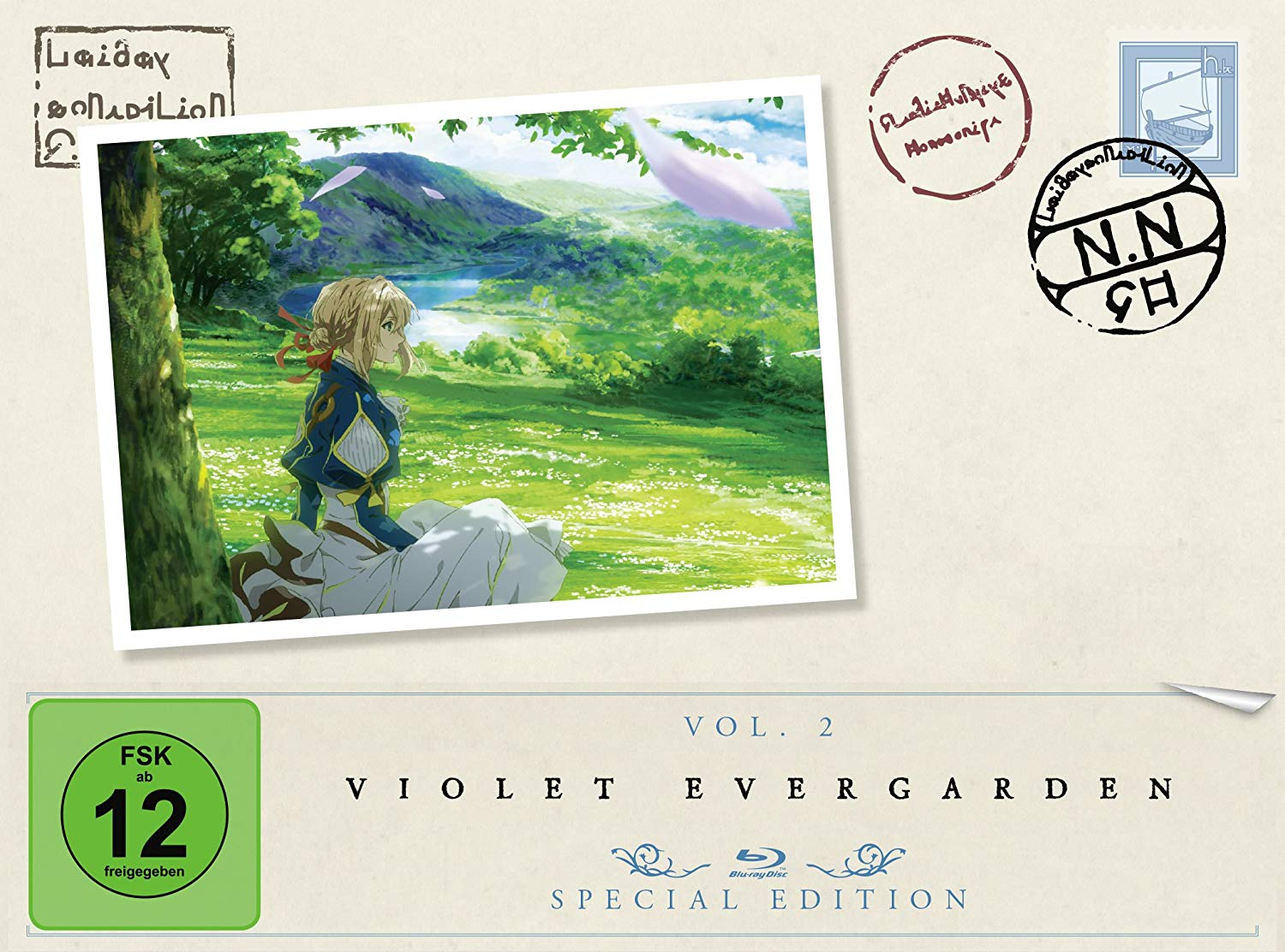 Anime-Review: Violet Evergarden Vol. 2