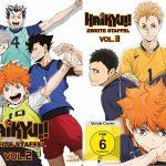 Haikyu!! Zweite Staffel Vol. 2 und 3