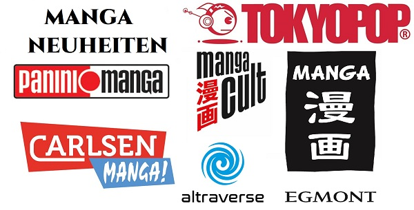 Manga Neuheiten – April 2019