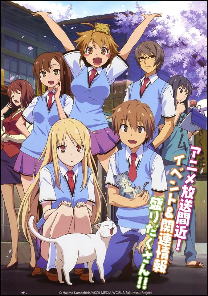 AniMoon Publishing lizensiert 'Pet Girl of Sakurasou'