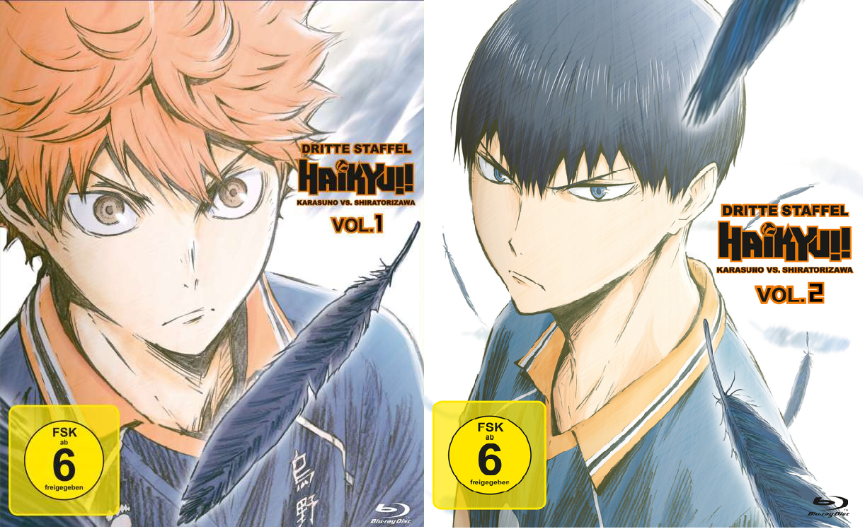 Bericht: Haikyuu! Staffel 3 – Karasuno vs Shiratorizawa [Vol. 1 & 2 – vollständige Staffel]