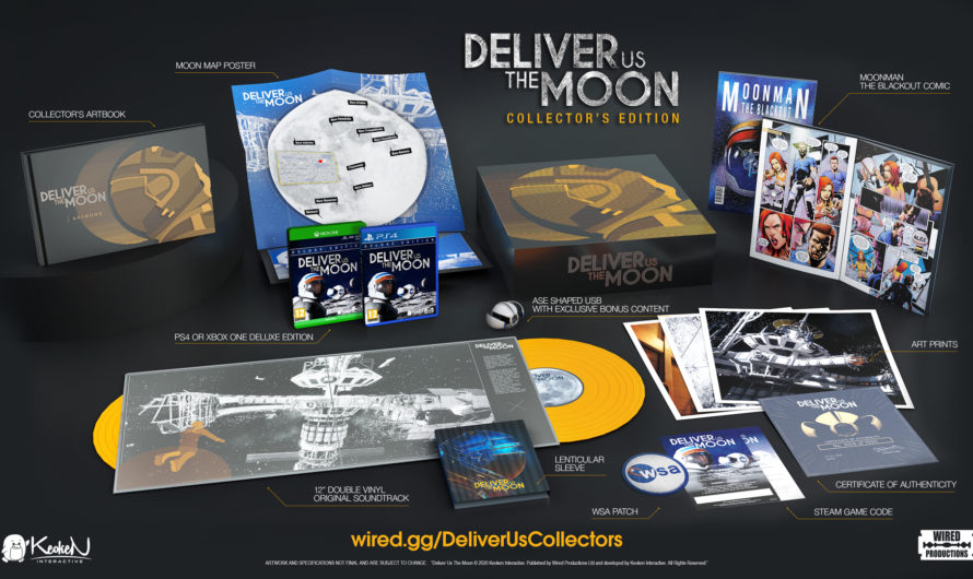Deliver Us The Moon Collector's Edition erscheint im Herbst 2020